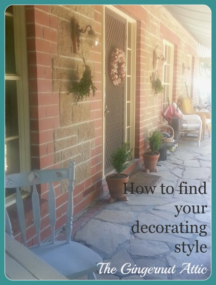 How to find your decorating style banner